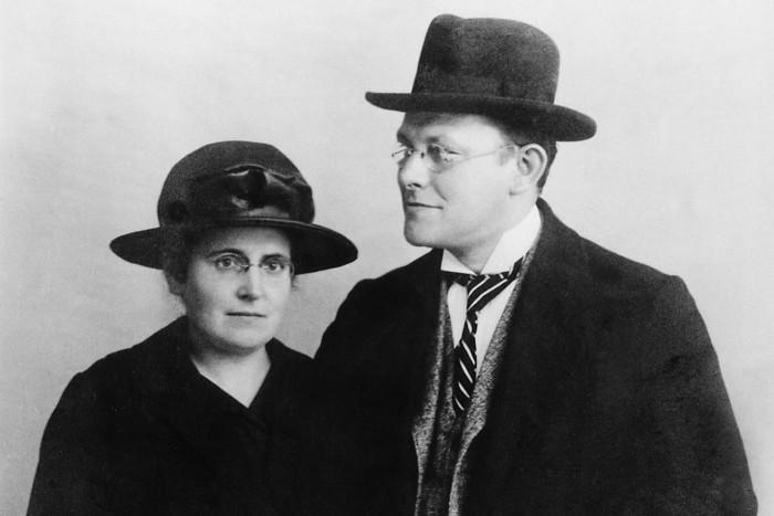 Otto Bock s manželkou