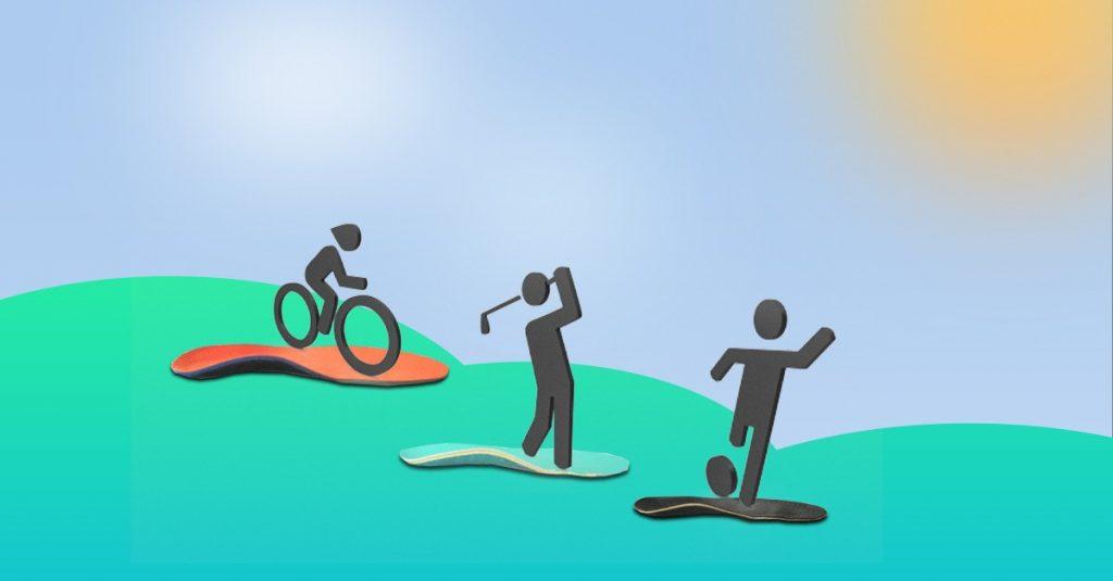 Športové vložky alebo vložky do topánok ‒ podľa športu