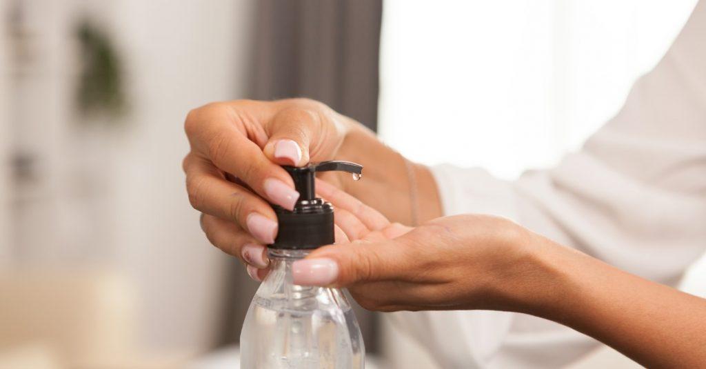 Častá dezinfekcia rúk