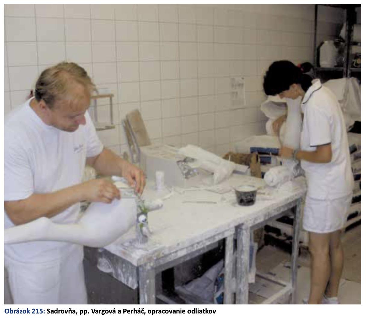 Technicko-výrobné pracoviská v ortopedickej protetike Centrum ortopedickej protetiky