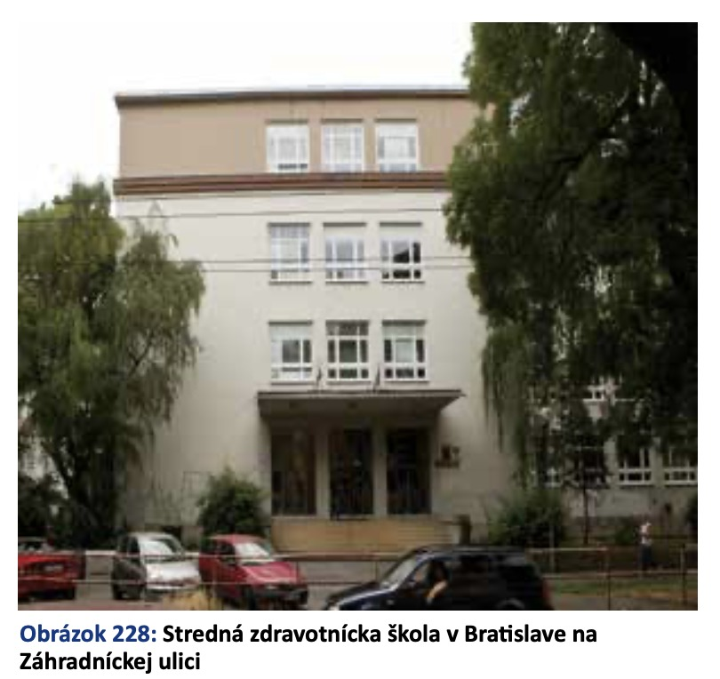 Stredná zdravotnícka škola v Bratislave na Záhradníckej ulici