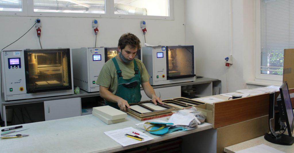 výroba ortopedických vložiek frézovaním